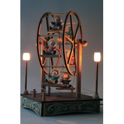 SMALL FERRIS WHEEL, lamp music box for children and babies