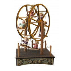 SMALL FERRIS WHEEL, music box for children and babies. This musical box, with light, for children and babies, is a perfect gift