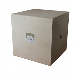 Large wooden boxes gift package, to contain our beautiful musical boxes, or to use as forniture at your home