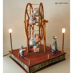 FERRIS WHEEL, collection lamp musicbox