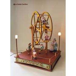 FERRIS WHEEL, children lamp musicbox