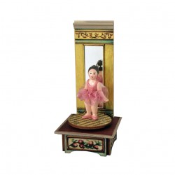 BALLERINA DANCING music box for collection. Gift for babies, kids and children but also for collectors.