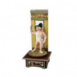 Ballet Dancer music box for collection. Gift for collectors and ballet lovers.