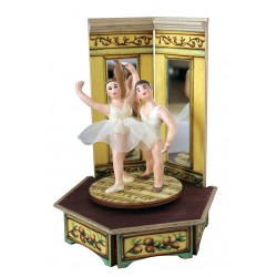 Couple Of Ballet Dancer music box for collection. Gift for collectors and ballet lovers.