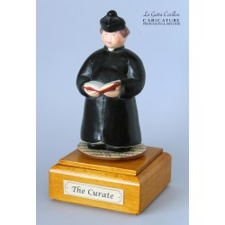 Customize caricature of a CURATE, musical box version or the simple statue version.