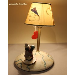 Collectible lamp musical box, with lovers. gift idea for boyfriends or girlfriend, anniversaries and birthdays.