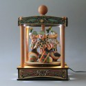 CIRCUS CAROUSEL, Electric Music boxes with lights