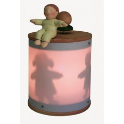 BABY BOY, light musical box for children baby and kids, gift for christening, baptism, baby shower party or birthday