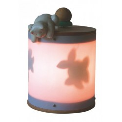 cat, light musical box for children baby and kids, gift for christening, baptism, baby shower party or birthday