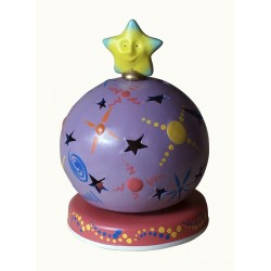 MAGICAL SPHERE light musical box for children baby and kids, gift for christening, baptism, baby shower party or birthday