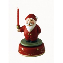 Santa Claus christmas music box. Collection music box is completely hand-painted and finished in an antique-style.