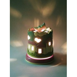 NOCTURNE light musical box for children baby and kids, gift for christening, baptism, baby shower party or birthday